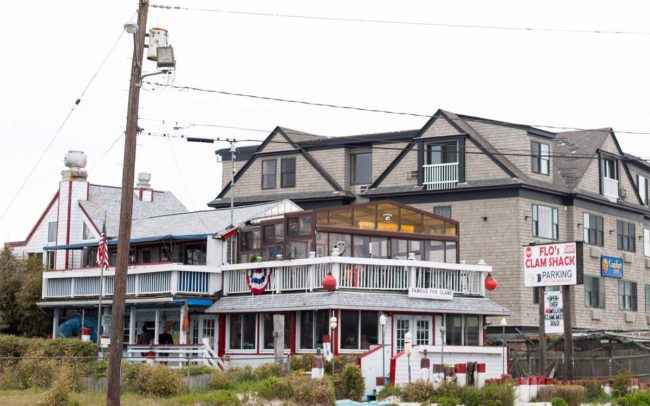 Flo's Clam Shack, seafood, restaurant, Rhode Island, seafood restaurant, newport
