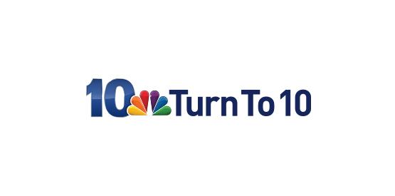 WJAR turn to 10 logo, NBC